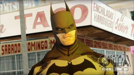 Batman From Batman: Arkham Origins para GTA San Andreas terceira tela