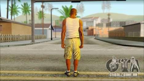 Franklin para GTA San Andreas segunda tela