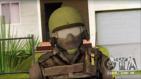 Australian Soldier para GTA San Andreas terceira tela