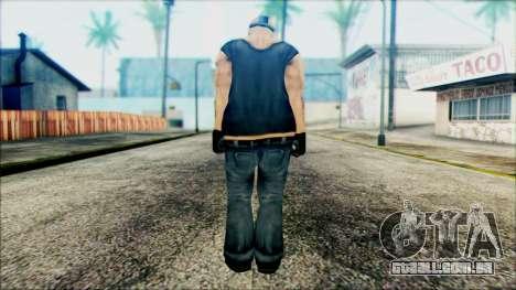 Manhunt Ped 11 para GTA San Andreas segunda tela