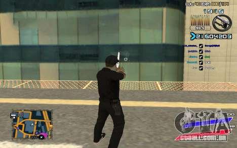 C-HUD by Radion edited SampHack para GTA San Andreas segunda tela