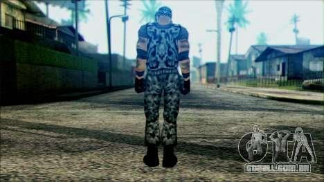 Manhunt Ped 22 para GTA San Andreas segunda tela