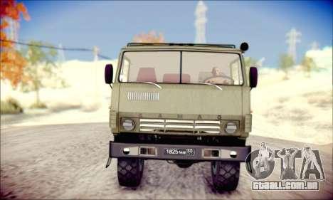 A KamAZ-6350 (APT) para GTA San Andreas esquerda vista