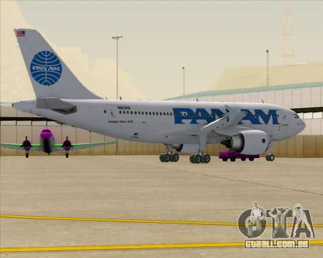 Airbus A310-324 Pan American World Airways para as rodas de GTA San Andreas