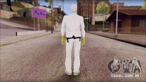 Doc with Radiation Protection Suit para GTA San Andreas segunda tela