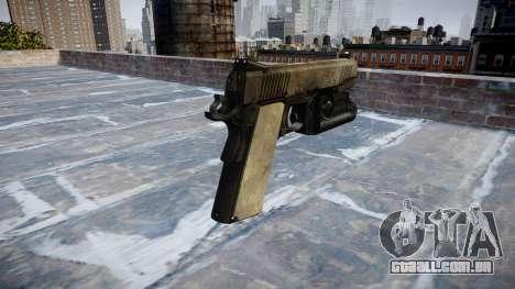 Arma Kimber De 1911, Um exército de fãs de couro para GTA 4 segundo screenshot
