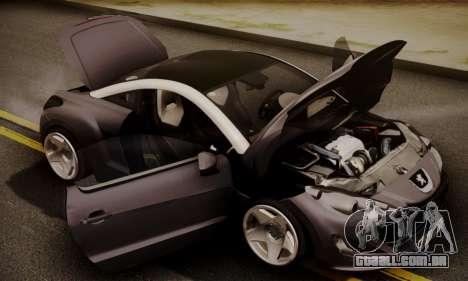 Peugeot RCZ para GTA San Andreas vista direita