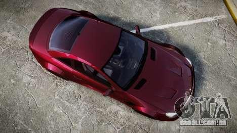 Mercedes-Benz SL 65 AMG Black Series para GTA 4 vista direita