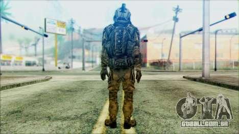 Soldados da equipe Fantasma 3 para GTA San Andreas segunda tela