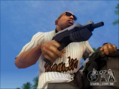 Uzi para GTA San Andreas terceira tela