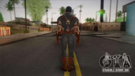 Captain America v1 para GTA San Andreas segunda tela