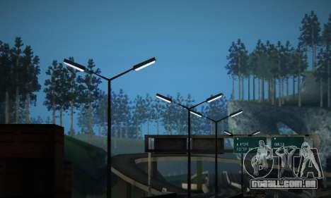 ENB Series by phpa v5 para GTA San Andreas oitavo tela