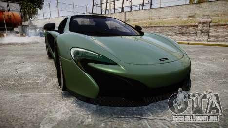 McLaren 650S Spider 2014 [EPM] Continental para GTA 4