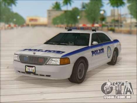 Admiral Police para o motor de GTA San Andreas