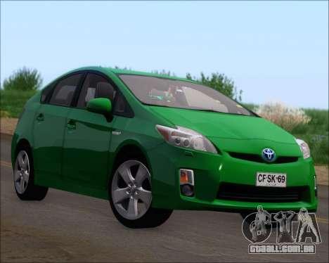 Toyota Prius para as rodas de GTA San Andreas