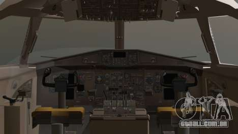 Indonesian Plane Wings Air para GTA San Andreas traseira esquerda vista
