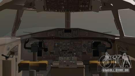 Indonesian Plane Wings Air para GTA San Andreas traseira esquerda vista