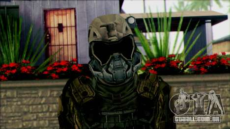 Soldados da equipe Fantasma 2 para GTA San Andreas terceira tela