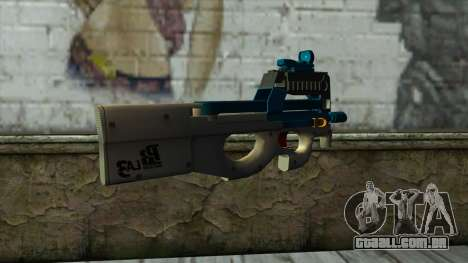 P90 from PointBlank v6 para GTA San Andreas segunda tela