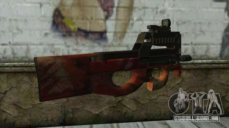 P90 from PointBlank v4 para GTA San Andreas segunda tela