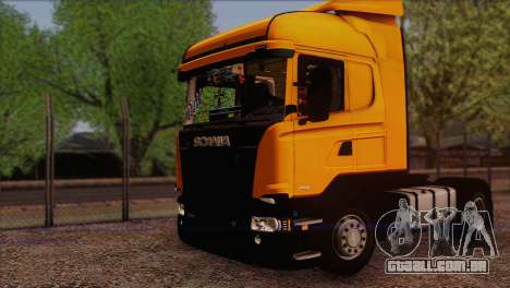 Scania R500 Streamline para GTA San Andreas