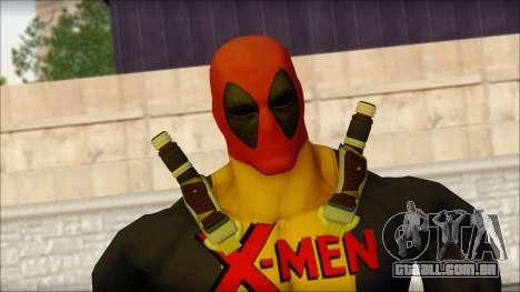 Xmen Deadpool The Game Cable para GTA San Andreas terceira tela