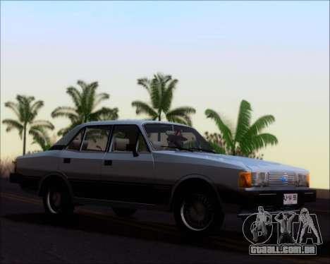 Chevrolet Opala Diplomata 1987 para GTA San Andreas esquerda vista