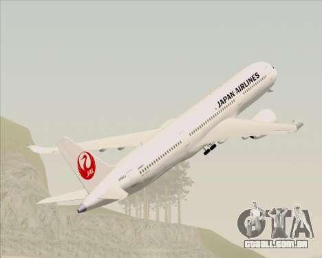 Airbus A350-941 Japan Airlines para GTA San Andreas