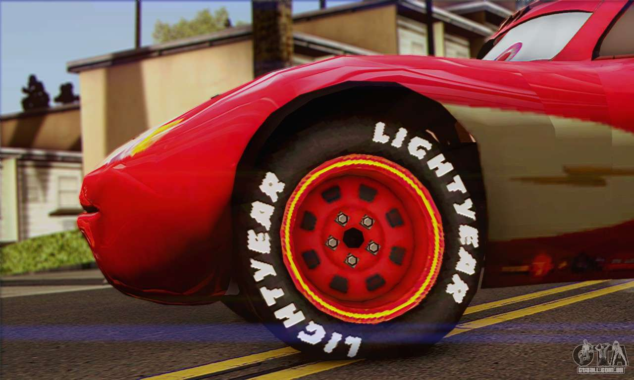 cars lightning mcqueen wallpaper hd