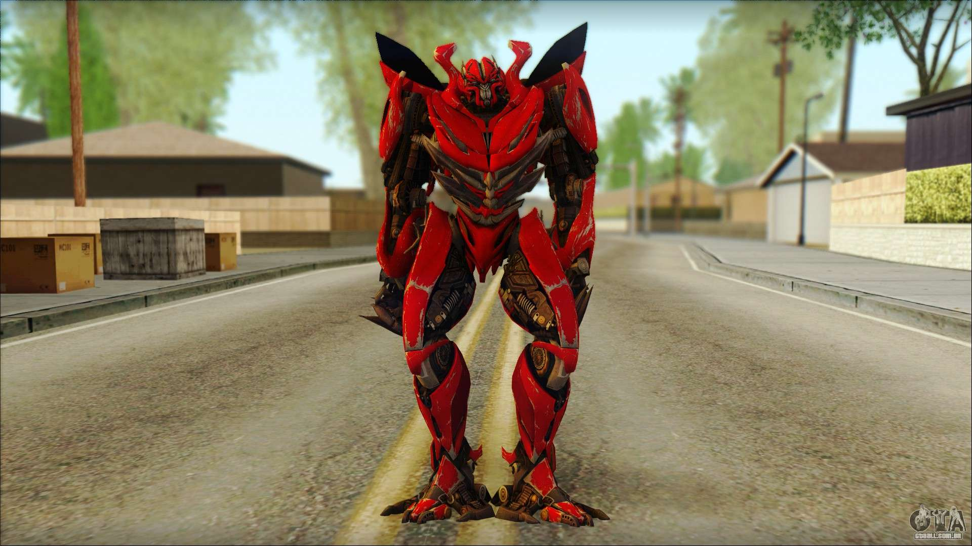 dino mirage transformers dark of the moon v2 para gta