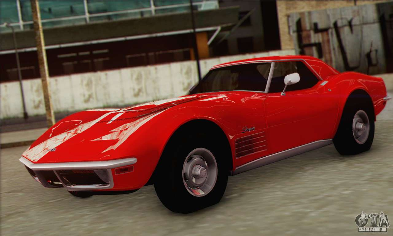 Chevrolet Corvette ZR1 1970 Para GTA San Andreas .
