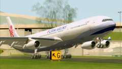Airbus A340-313 China Airlines para GTA San Andreas