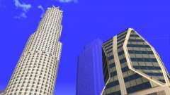 HD textura quatro arranha-céus de Los Santos