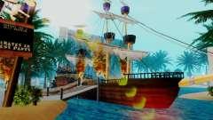 Novo navio pirata em Las Venturas