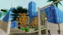 A textura, o Parque de skate e um hospital em Lo