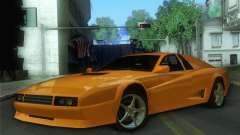 Cheetah Testarossa para GTA San Andreas