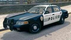 Ford Crown Victoria LCPD [ELS] Pushbar para GTA 4