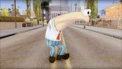 Anchov from Sponge Bob para GTA San Andreas