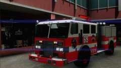 SAFD BRUTE Firetruck para GTA San Andreas