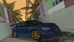 Subaru Impreza WRX STI 2006 Type 2 para GTA Vice City