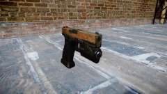 Pistola Glock de 20 selva para GTA 4