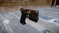 Pistola Glock 20 estão vermelhos