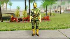 Guardians of the Galaxy Star Lord v1 para GTA San Andreas