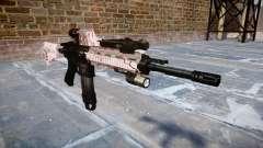 Automatic rifle Colt M4A1 cereja blososm
