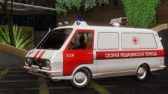 RAF 22031 Letónia - Ambulância para GTA San Andreas