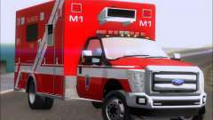 Ford F-350 Super Duty TFD Medic 1 para GTA San Andreas