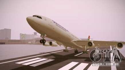 Airbus A340-300 South African Airways para GTA San Andreas