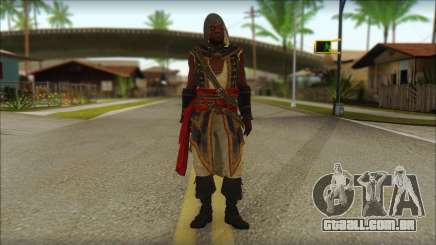 Adewale from Assassins Creed 4: Freedom Cry para GTA San Andreas