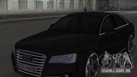 Audi A8 2010 W12 Rim6 para GTA Vice City