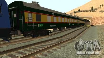 Pakistan Railways Train para GTA San Andreas